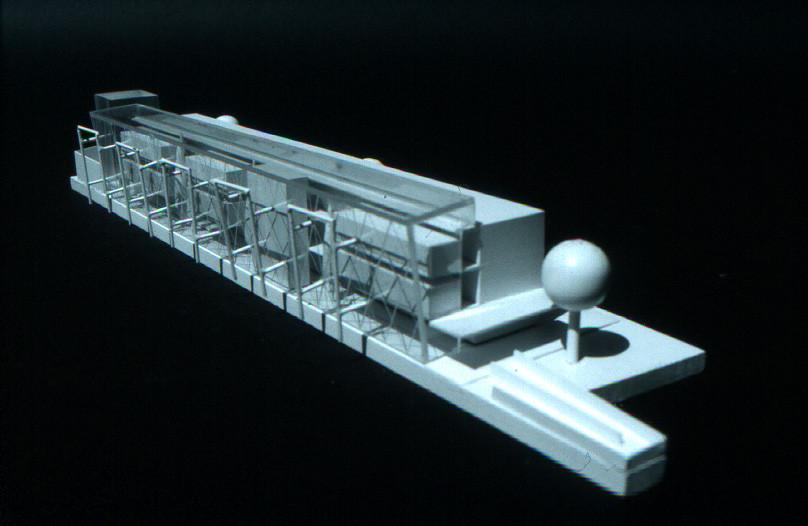 <p>© RUNSER / PRANTL architekten, Neubau Pflegezentrum Sophienspital, 1070 Wien, Österreich, Wettbewerb, 1996, Spital, Krankenhaus</p>