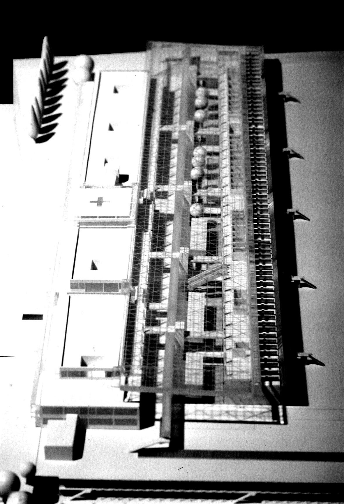 <p>© RUNSER / PRANTL architekten, Wagner Jauregg Krankenhaus, 4020 Linz, Oberösterreich, Österreich, Wettbewerb, Ankauf, 1993, Spital, Krankenhaus, Schule</p>