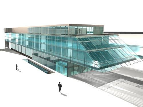 <p>© RUNSER / PRANTL architekten, Hauptfeuerwache Leopoldstadt Zu- und Umbau , 1020 Wien, Österreich, Realisierungswettbewerb, 2004, Feuerwehr</p>