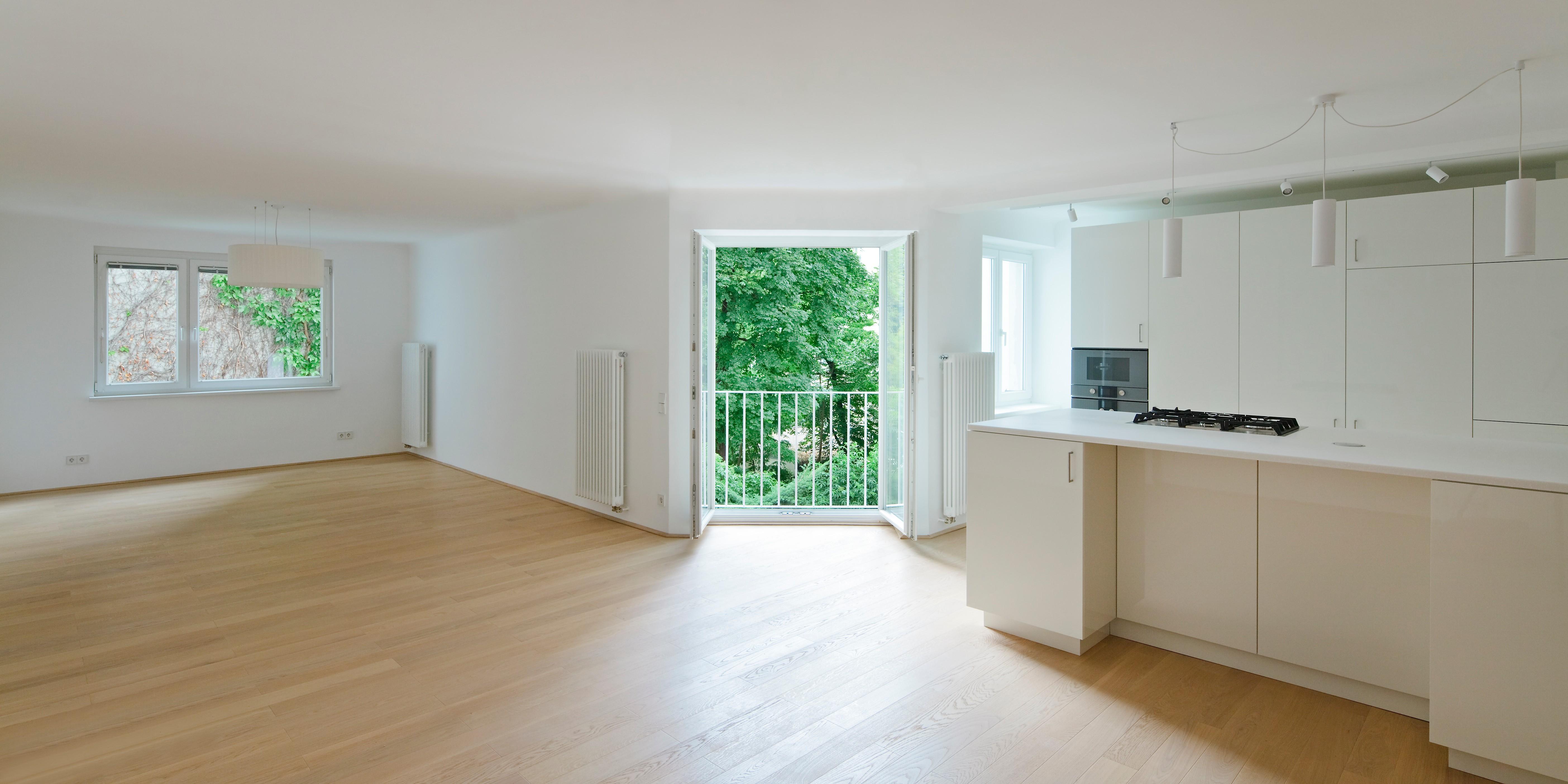 © RUNSER / PRANTL architekten, Wohnung P., 1040 Wien, Österreich, 2015, Wohnung, Bad, Fotograf Rupert Steiner