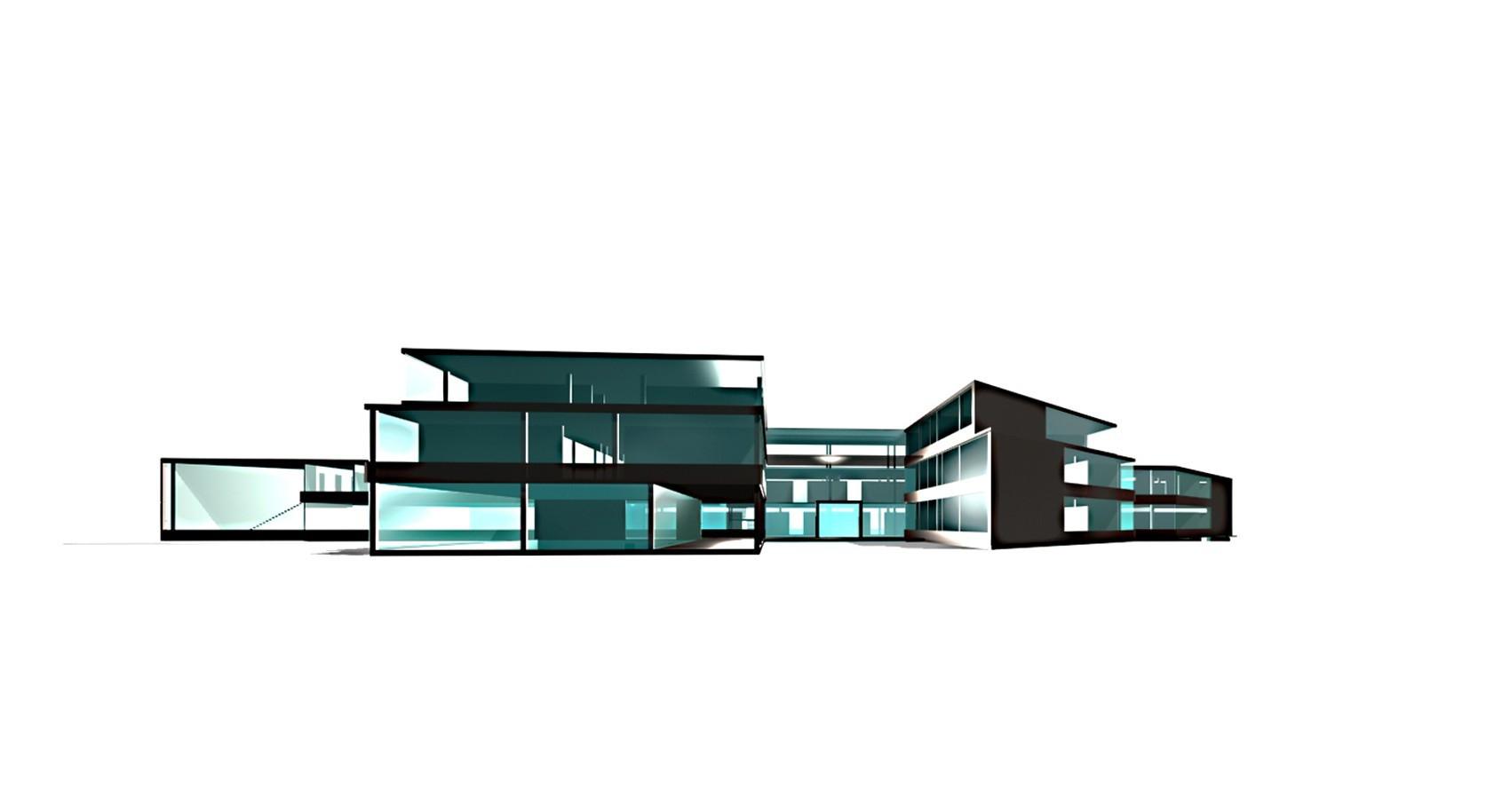 © RUNSER / PRANTL architekten, Landesberufsschule Mistelbach, 2130 Mistelbach, Niederösterreich, Österreich, 2002, Schule