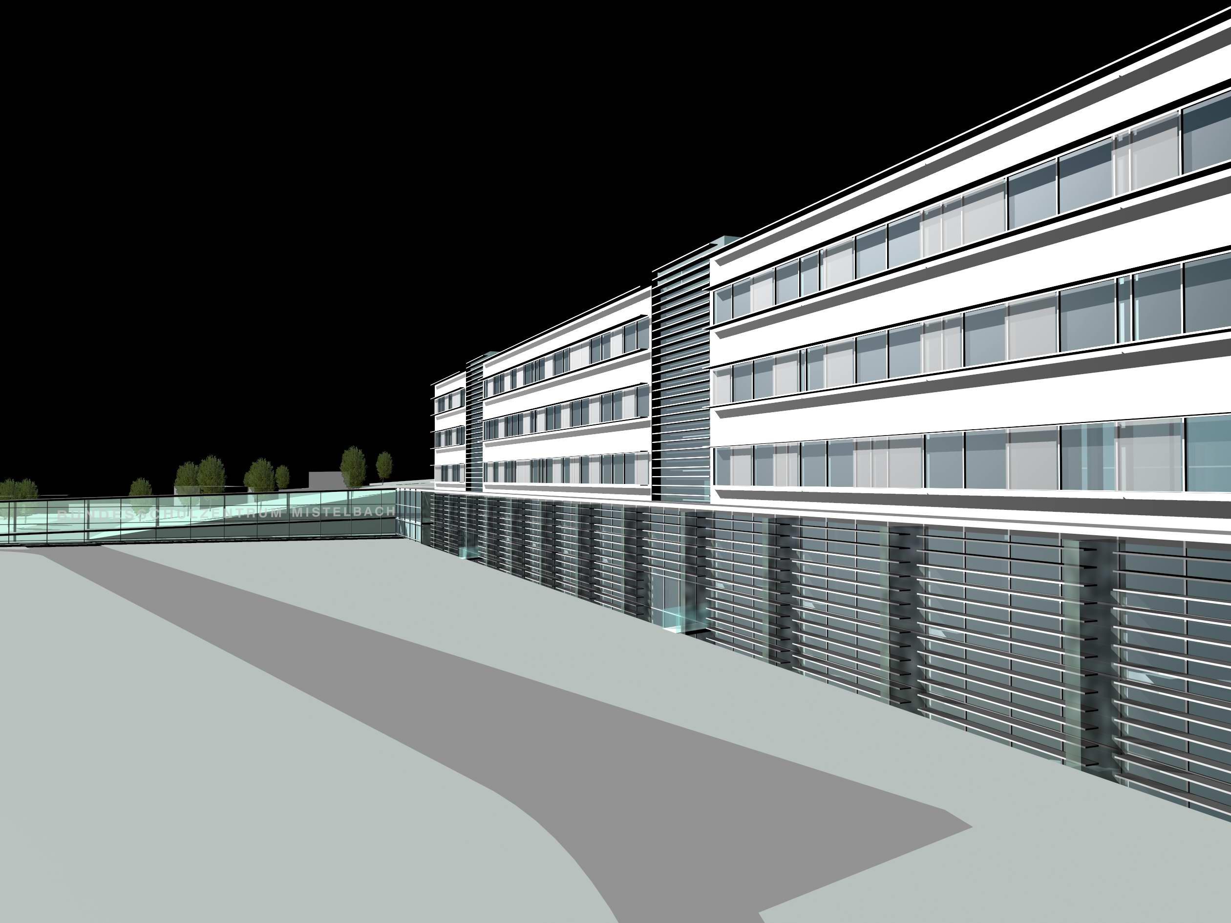 <p>© RUNSER / PRANTL architekten, Erweiterung Bundesschulzentrum Mistelbach, 2130 Mistelbach, Niederösterreich, Österreich, Wettbewerb, 2000, Schule, Sport</p>