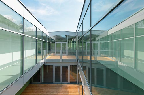 <p>© RUNSER / PRANTL architekten, Niedrigstenergie Wohnhaus für Menschen mit Behinderungen, 3204 Kirchberg/Pielach, Niederösterreich, Österreich, 2013, Wohnhaus, Fotograf Rupert Steiner</p>