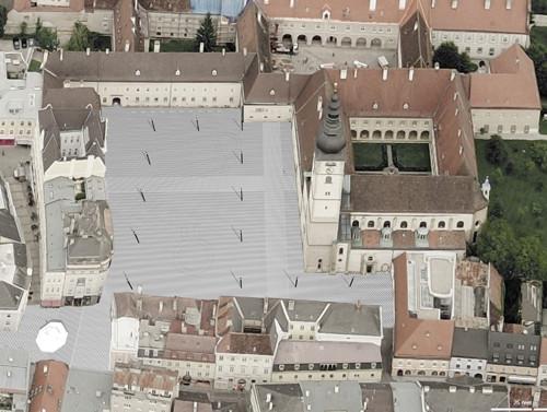 <p>© RUNSER / PRANTL architekten, Domplatz St.Pölten Neugestaltung, 3100 St.Pölten, Niederösterreich, Österreich, Wettbewerb, 2010, Platzgestaltung</p>