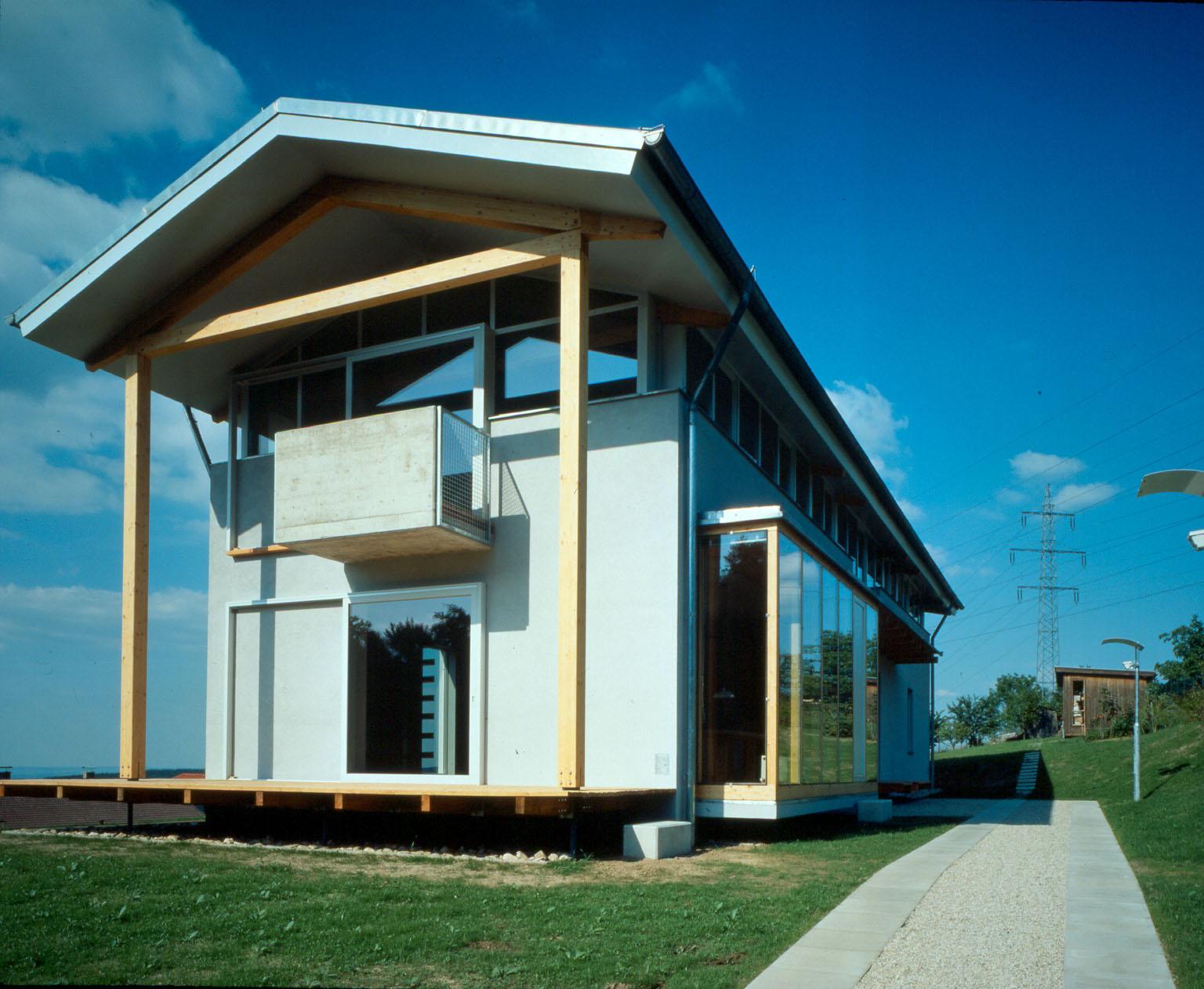 <p>© RUNSER / PRANTL architekten, Haus am Hang, 3413 Hintersdorf, Niederösterreich, Österreich,1994, Wohnhaus, Wohnung, Fotograf Margherita Spiluttini</p>