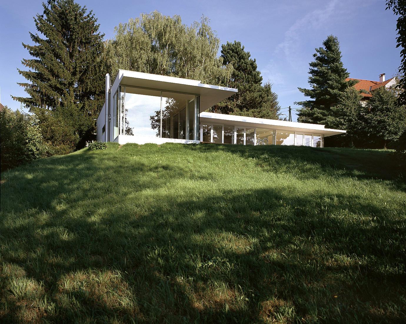 © RUNSER / PRANTL architekten, Haus K., 3413 Oberkirchbach, Niederösterreich, Österreich, 2005, Wohnhaus, Bad, Fotograf Margherita Spiluttini