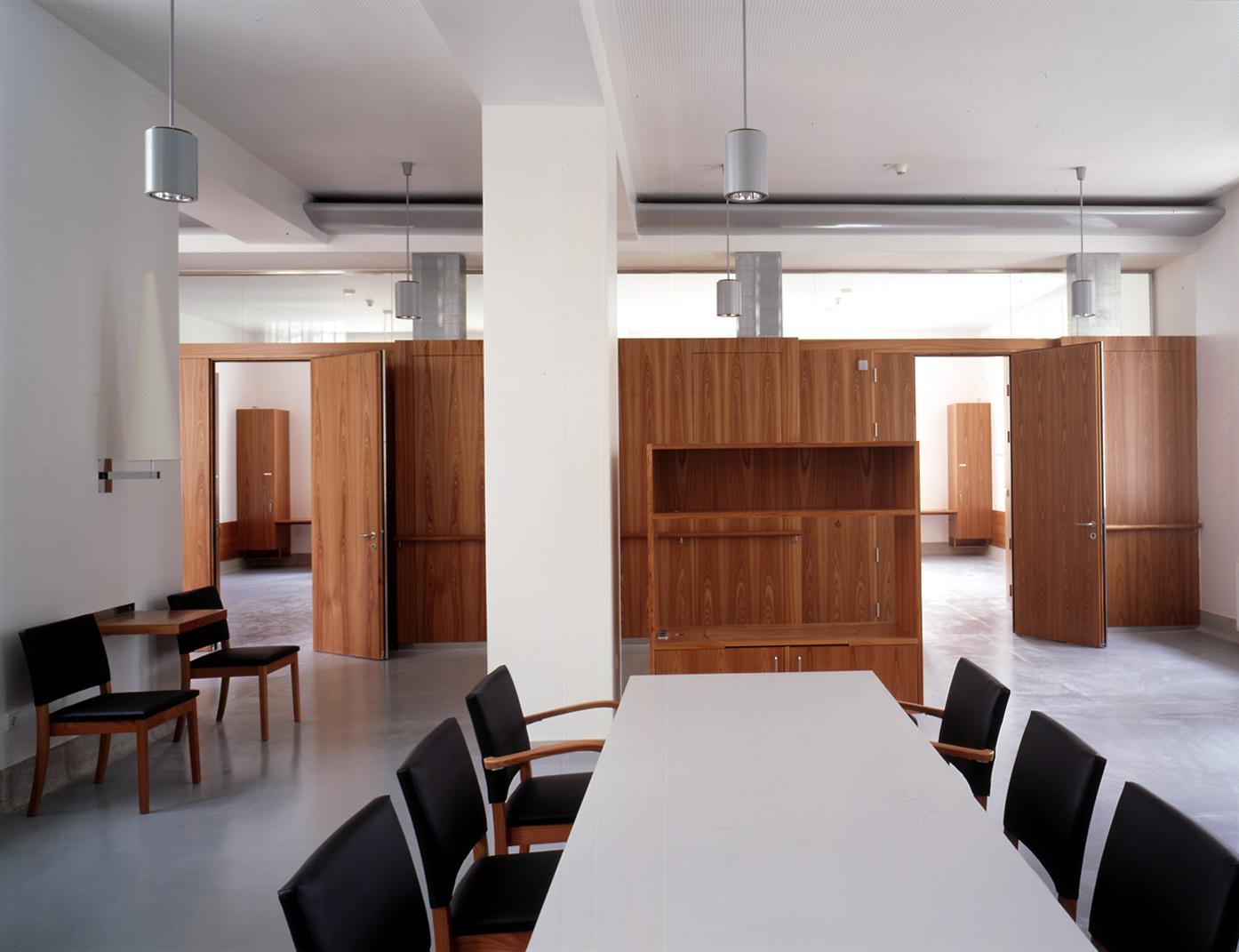 <p>© RUNSER / PRANTL architekten, Otto Wagner Spital Pavillon 9, 1140 Wien, Österreich, 2002, Spital, Krankenhaus, Fotograf Margherita Spiluttini</p>